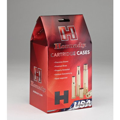 Hornady Unprimed Brass Rifle Cartrdige Cases .30-378 Wby Mag 20/rd