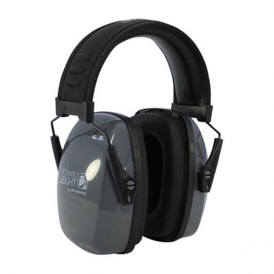 Howard Leight Leightning L1 Slimline Passive Earmuff - Black/Gray