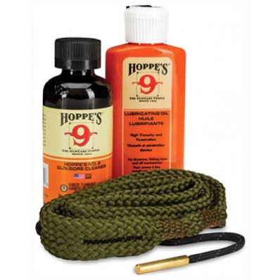 Hoppe's 1.2.3. Done Pistol Cleaning Kit 9mm .38 cal