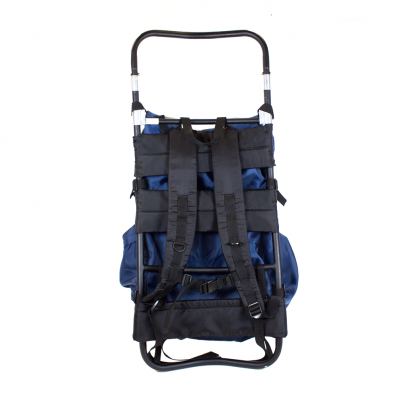 Bucklick Creek Freighter Frame with Rucksack - Blue