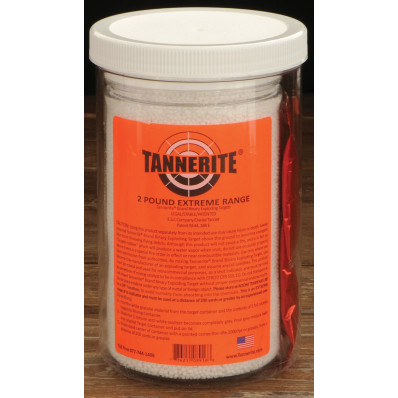Tannerite Single Exploding Rifle Target 2lb