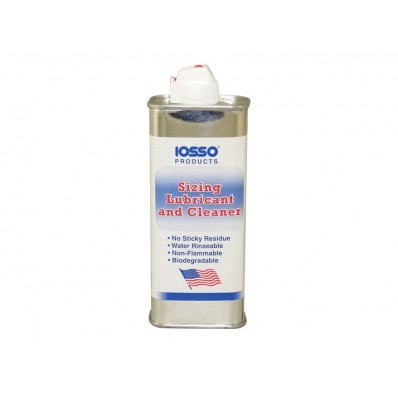 Iosso Sizing Lube & Cleaner - 4 oz.