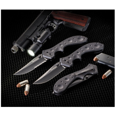Timberline Wortac II Serrated Edge Tactical Knife 9-4/5 in. Overall Length