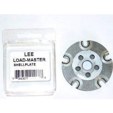 Lee Load-Master Shell Plate - #12L Size For 7.62x39, 6mm PPC, .22 PPC and Similar