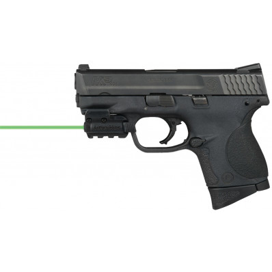 LaserMax Spartan Rail Mounted Green Laser - Mounted