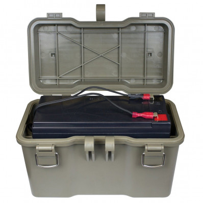 Moultrie Camera Battery Box With 12-Volt Rechargeable Battery - Moultrie 2007 and Later Cameras