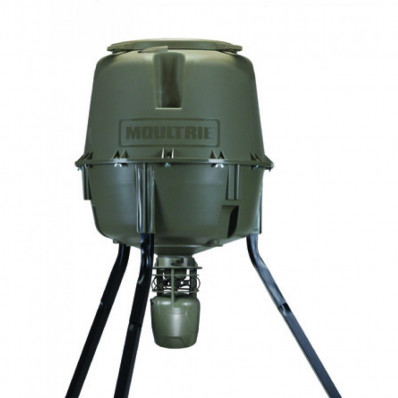 Moultrie Deer Feeder Unlimited Tripod 30-Gallon