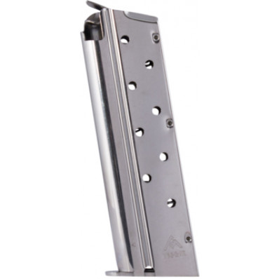 MEC-GAR 1911 Handgun Magazine HT 9mm Nickel 9/rd