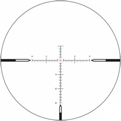 Nightforce SHV Rifle Scope - 4-14x56mm .25 MOA MOAR Center-Illum. Reticle