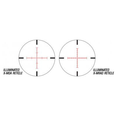 Illuminated X-MRAD Reticle