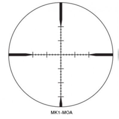 ikon Monarch M5 Rifle Scope - 4-16x50 SF (30mm) MK1-MOA Reticle - Matte