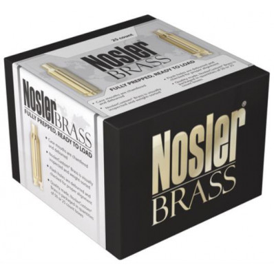 Nosler Unprimed Brass Rifle Cartridge Cases 25/ct .270 WSM