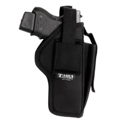 Tagua Nylon Holster w/Mag Carrier RH FITS Glock 26 H&K Comp WaltherPPS & XDM 3.8
