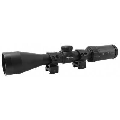 BSA 3-9x Mag. 40mm Obj, BDC-8 Reticle Rifle Scope - Clam Pack