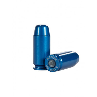 A-Zoom Metal Snap Caps .40 S&W Blue 10/pk