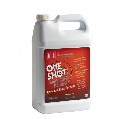 Hornady One Shot Sonic Cleaning Solution - Cartridge Case Formula - 1 gal