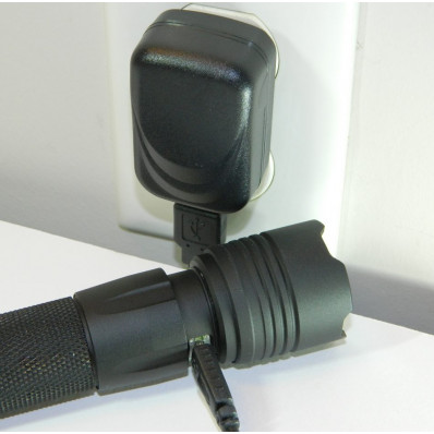 Smith & Wesson MP 15 LED USB Rechargeable Flashlight - 800 Lumens