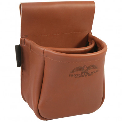 Protektor Model Trap/Skeet Shooters Bag - Brown Leather