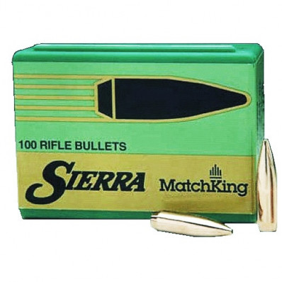 Sierra MatchKing Long Range Specialty Bullets .22 cal 77 gr HPBT MATCH MOLY 50/ct