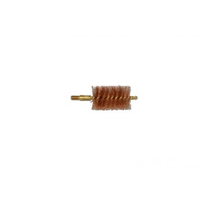 Pro-Shot Tactical Bronze Bristle/Brass Core Bore Brush (8/32 Thread) 12 ga
