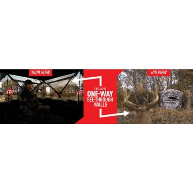 Primos Double Bull SurroundView 180 Degree Blind - Truth Camo