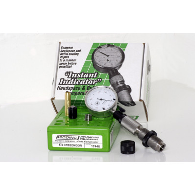 Redding Instant Indicator Headspace and Bullet Comparator With Dial Indicator 6.5 Creedmoor
