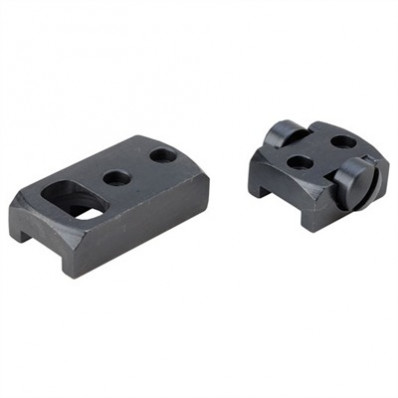 Redfield 2-Piece Rotary Dovetail Extension Base - Rem 700 SA / LA / Left and Right, Ruger 77 RR LA - Matte