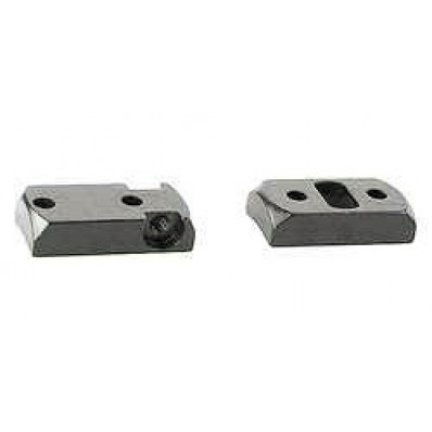 Redfield 2-Piece Rotary Dovetail Extension Base - Rem 700 SA / LA / Left and Right, Ruger 77 RR LA - Nickel
