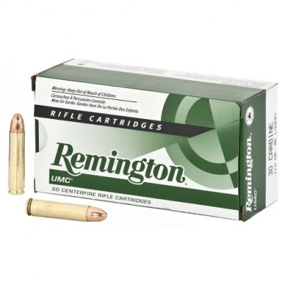 Remington Rifle Ammunition .30 Carbine 110 gr SP 1990 fps - 50/box