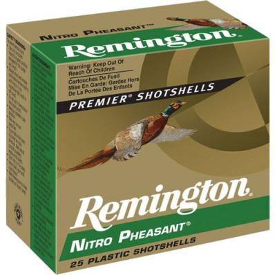 "Remington Nitro Pheasant 12 ga 2 3/4"" MAX 1 1/4 oz #6 1400 fps - 25/box"