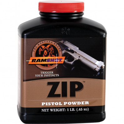 Ramshot ZIP Handgun Powder 1 lbs