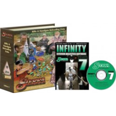 Sierra INFINITY Exterior Ballistic Computer Software Version 7 (CD-ROM) & 5th Edition Reloading Manual (Print)