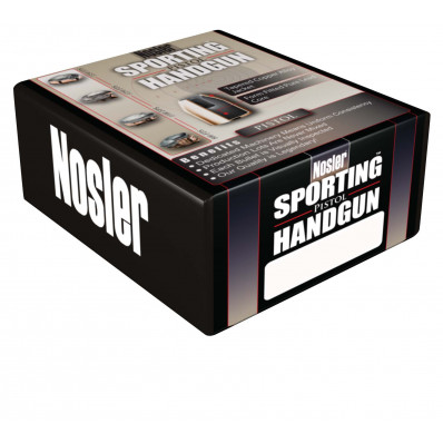 "Nosler Sporting Handgun Pistol Bullets 10mm .400"" 180 gr JHP 250/ct"