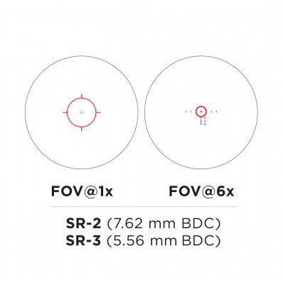 Illuminated SR-3 Reticle