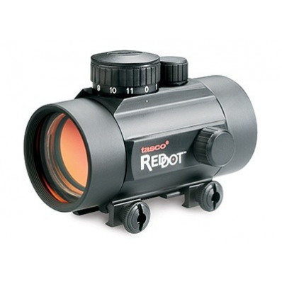 Tasco Tactical Red Dot Sight - 1x42mm Illuminated Red or Green Dot Matte  Black