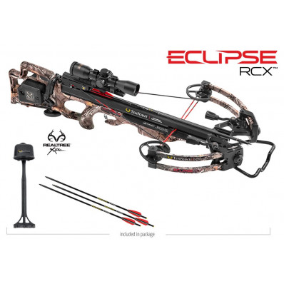 Tenpoint Eclipse RCX Crossbow Package with ACUdraw & 3x Pro View 2 Scope - Realtree Xtra