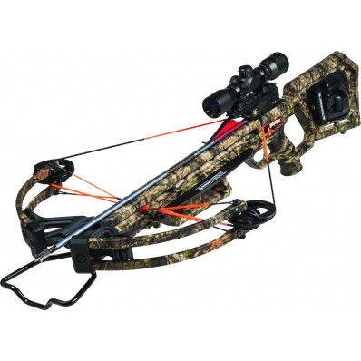 Wicked Ridge Invader X4 Crossbow Package with Tenpoint Multi-Line Scope & ACUdraw 50 - Mossy Oak