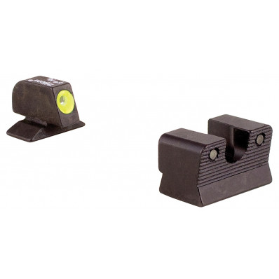 Trijicon Beretta 92/96A HD Night Sight Set - Yellow Front Outline