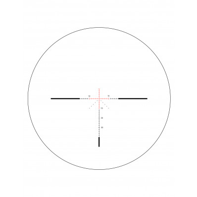Trijicon AccuPower 3-9x40mm Rifle Scope - MOA Crosshair Reticle w/ Red LED 1 in. Tube