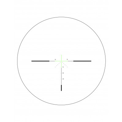 Trijicon AccuPower 3-9x40mm Rifle Scope - MOA Crosshair w/ Green LED 1 in. Tube