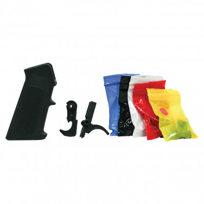 Tactical Superiority AR-15 Complete Lower Parts Kit w/ Grip