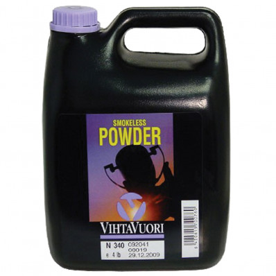 VihtaVouri N340 Smokeless Handgun Powder 4 lbs