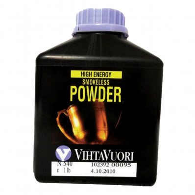 VihtaVouri N540 High Energy Smokeless Rifle Powder 1 lbs