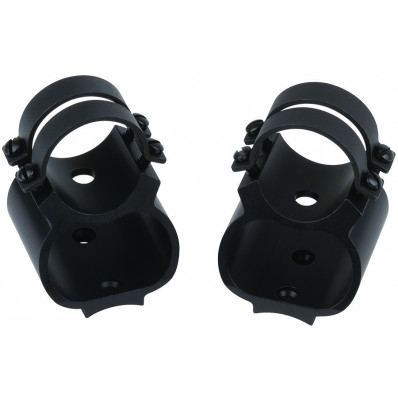 """Weaver See-Thru Detachable Top Mount Rings, 1"""" Browning A-Bolt, Gloss Black"""