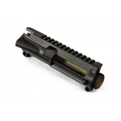 WMD NiB-X A3/A4 Upper Receiver w/M4 Feed Ramps, Forged, Stripped with Black Ceramic Topcoat