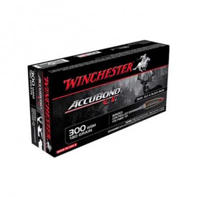 Winchester AccuBond CT Rifle Ammunition .300 WSM 180 gr AB 3010 fps - 20/box