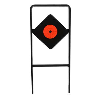 """USA World of Targets Ace of Diamonds 1/2"""" AR500 Gong Centerfire Spinning"""