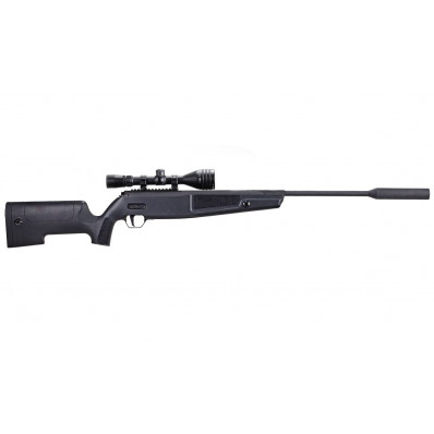 Sig Sauer SSG ASP20 Airgun Rifle .177 cal 20FP Synthetic Stock Suppressor Whiskey3 Scope ASP