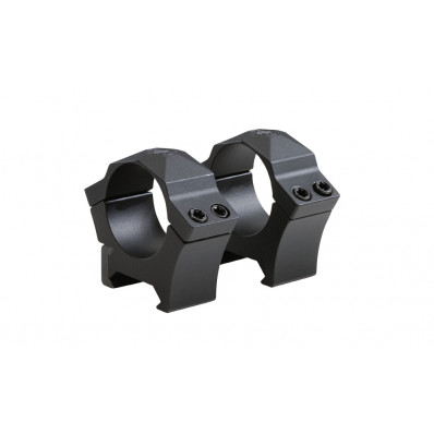 Sig Sauer Alpha Hunting Scope Rings Machined Steel 30mm High Black