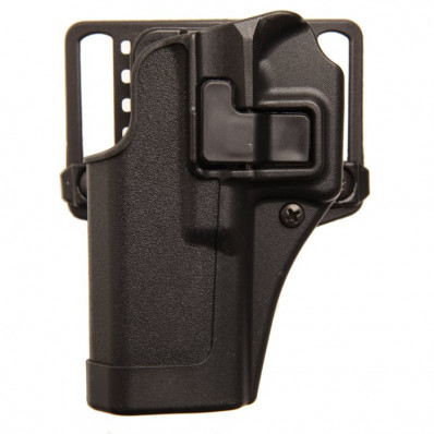 Blackhawk! SERPA CQC Concealment Holster Matte Finish Caracal F Black Left Hand